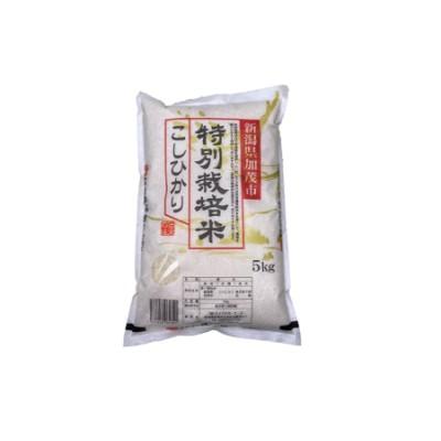 【2633-0072】加茂有機米生産組合の作った特別栽培米コシヒカリ 玄米 5kg