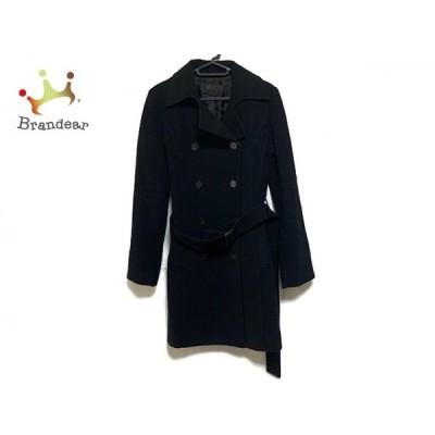 プロフィール PROFILE コート サイズ38 M レディース 美品 黒 冬物   スペシャル特価 20200313