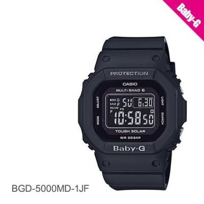 カシオ CASIO BABY-G ベビーG  電波ソーラー スクエアフォルム BGD-5000MD-1JF 腕時計