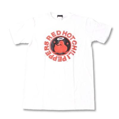 Tシャツ バンドTシャツ ロックTシャツ 半袖 (W) レッドホットチリペッパーズ/ レッチリ RED HOT CHILI PEPPERS 10 WHT S/S 白