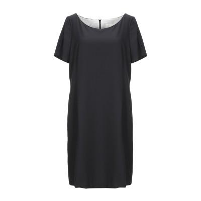 BOTTEGA MARTINESE ミニワンピース&ドレス ブラック 46 ポリエステル 86% / ポリウレタン 14% ミニワンピース&ドレス