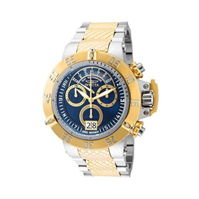 Invicta Men's Subaqua Noma III Quartz Diving Watch with Stainless Steel Strap, Gold, 28 (Model: 31883) 並行輸入品