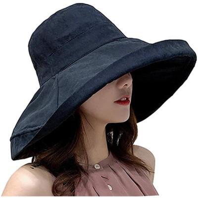 Caissipレディース 帽子 ハット UVカット 紫外線対策 つば広 おしゃれ 可愛い 旅行用 日よけ 女優帽 小顔効果抜群