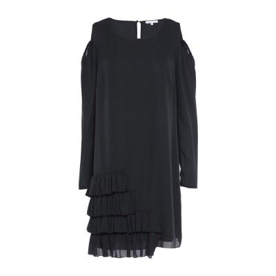 パトリツィア ペペ PATRIZIA PEPE ミニワンピース&ドレス ブラック 38 ポリエステル 100% ミニワンピース&ドレス