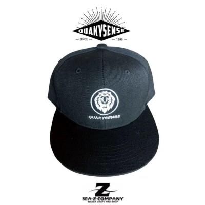 新品【NEW】【QUAKYSENSE】クエーキーセンス MY LIFE FLAT VISOR CAP 21ALJ004 ブラック・グレー