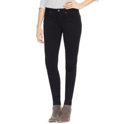 ヴィンスカムート レディース デニムパンツ ボトムス Black Denim Skinny Jeans JET BLACK