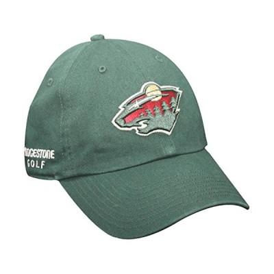 Bridgestone Golf Hat NHL Minnesota Wild Golf Hat Adjustable Fit