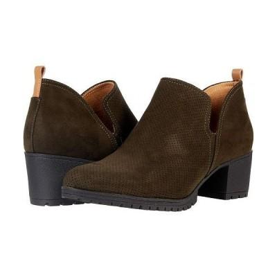 Dr. Scholl's ドクターショール レディース 女性用 シューズ 靴 ブーツ アンクル ショートブーツ Love It - Green