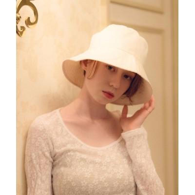 YARD PLUS/AUNT MARIE'S / flowriri   コットンバケットハット WOMEN 帽子 > ハット