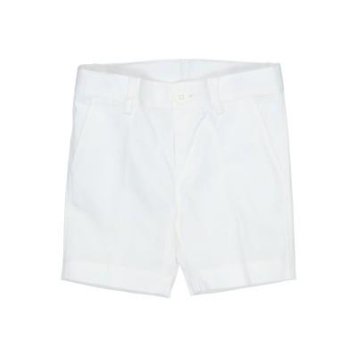 ALETTA バミューダパンツ ホワイト 6 コットン 97% / ポリウレタン 3% バミューダパンツ
