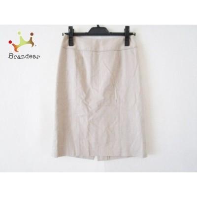 ジユウク 自由区/jiyuku スカート サイズ36 S レディース ベージュ           スペシャル特価 20191005