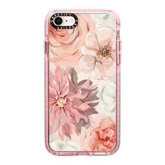 CASETiFY iPhone 8 Impact Case - Pretty Blush