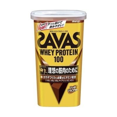 ザバス ホエイプロテイン100 リッチショコラ味 294g(約14食分) 明治
