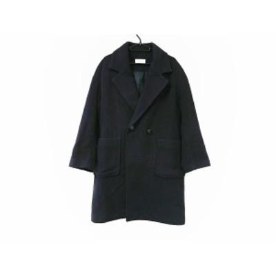 フリークスストア freak's store コート サイズM レディース 美品 黒 冬物【中古】20200920