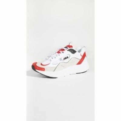 フィラ Fila メンズ スニーカー シューズ・靴 trigate sneakers White/Fila Red/Black