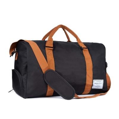 ボストンバッグ ジムバッグ レディース メンズ ジム通い バッグ スポーツバッグ 旅行 シューズ収納 2way 大容量