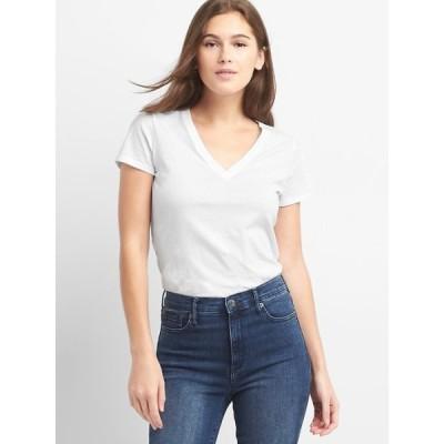 tシャツ Tシャツ Gap 半袖VネックTシャツ(ヴィンテージウォッシュ)