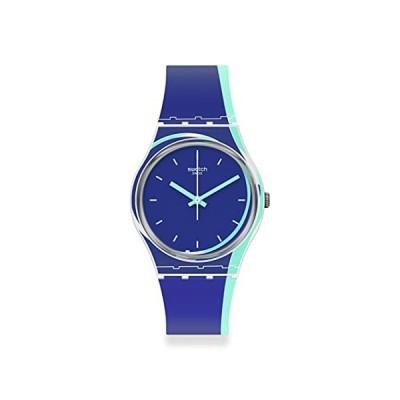 腕時計 スウォッチ メンズ GW217 Swatch Gent Standard Quartz Silicone Strap, Blue, 16 Casual Watch (M