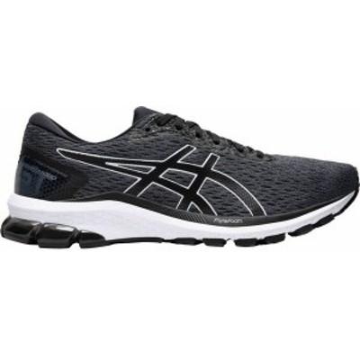 アシックス メンズ スニーカー シューズ ASICS Men's GT-1000 9 Running Shoes Grey/Black