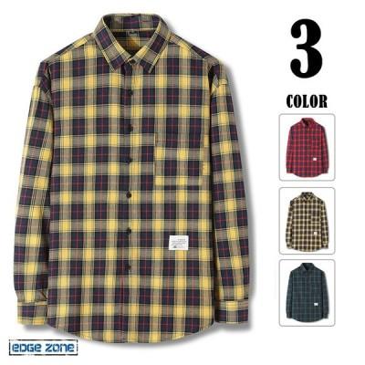 チェックシャツ メンズ 長袖シャツ オシャレ カジュアルシャツ 大きいサイズ シャツ ボタン おしゃれ 春 秋