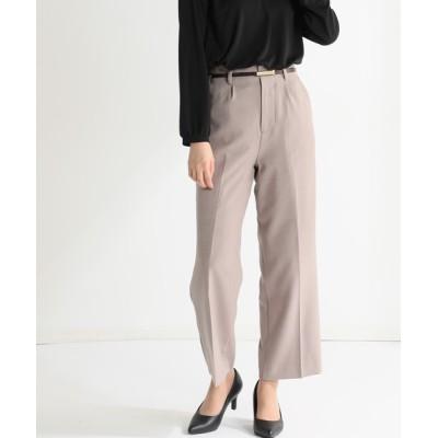 Honeys / ベルト付ストレートパンツ WOMEN パンツ > パンツ
