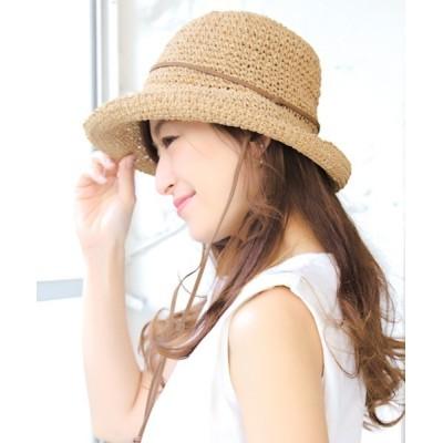 14+(ICHIYON PLUS) / 細編みアドベンチャーハット WOMEN 帽子 > ハット