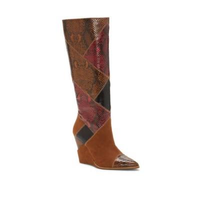 ジェシカシンプソン レディース ブーツ・レインブーツ シューズ Henlee Tall Wedge Boots
