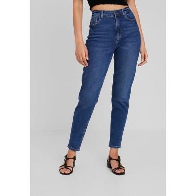ピーシーズ デニムパンツ レディース ボトムス PCKESIA MOM - Relaxed fit jeans - dark blue denim
