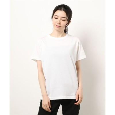 tシャツ Tシャツ EDWIN LADIES 『ハタラクT』 無地クルーネックTシャツ