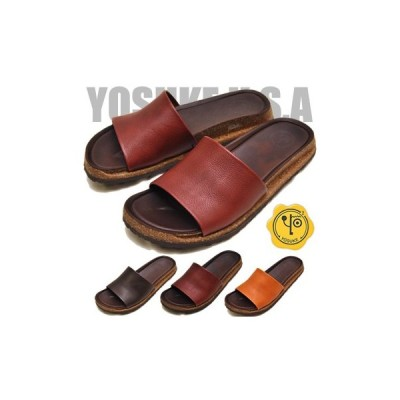 フラットサンダル 本革 レディース YOSUKE ヨースケ 靴 ※(予約)は3営業日内に発送