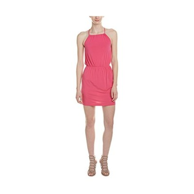 ビーシービージェネレーション BCBGeneration レディース Shirred ウエスト Halter ドレス, ワイルド ロー(海外取寄せ品)