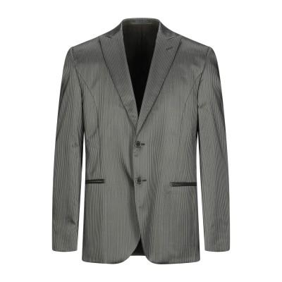 LUBIAM テーラードジャケット ブラック 52 アセテート 70% / バージンウール 30% テーラードジャケット