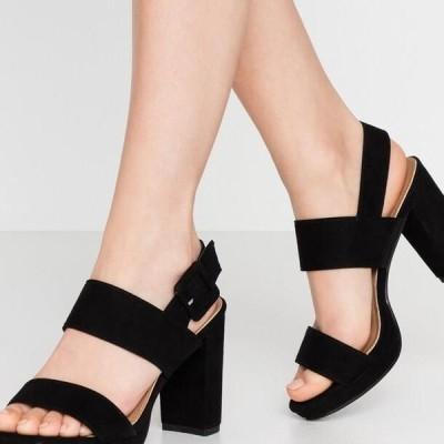 コットンオン レディース サンダル CARNELIAN PLATFORM - High heeled sandals - black