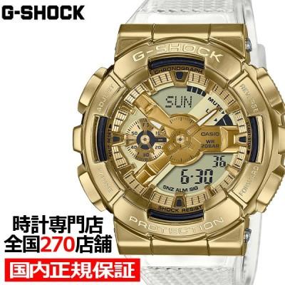 G-SHOCK Gショック Metal Covered GOLD INGOT スケルトン GM-110SG-9AJF メンズ 腕時計 アナデジ ゴールド メタルベゼル 国内正規品 カシオ