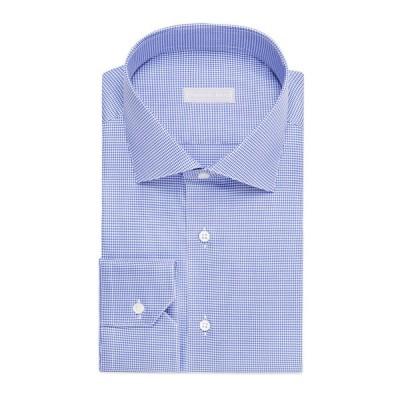 ステファノリッチ メンズ シャツ トップス Men's Houndstooth Cotton Sport Shirt