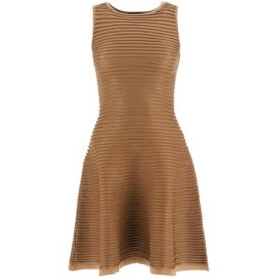 DSQUARED2/ディースクエアード Brown Dsquared2 ribbed knit mini dress レディース 秋冬2020 S72CV0145 S17546 ik