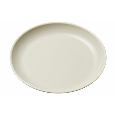 エンテック ポリプロピレン食器 給食皿16cm グレー No.1712GR