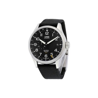 オリス 腕時計 Oris Big Crown ProPilot GMT ブラック ダイヤル メンズ 腕時計 748-7710-4164BKFS