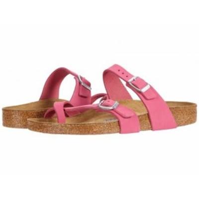 Birkenstock ビルケンシュトック レディース 女性用 シューズ 靴 サンダル Mayari Fuchsia Tulip Nubuck【送料無料】
