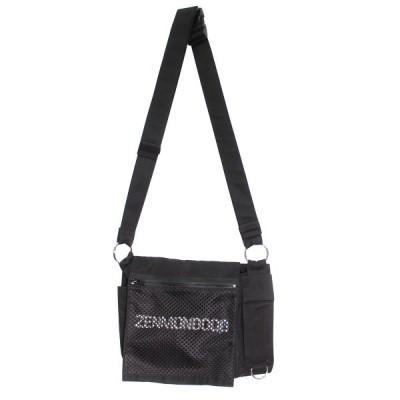 【2月1日値下】UNDERCOVER 19SS ZENMONDOOO ショルダーバッグ ブラック (吉祥寺店)