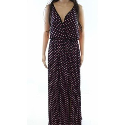 American  ファッション ドレス American Twist NEW Black Womens Size Large L Polka-Dot Maxi Dress
