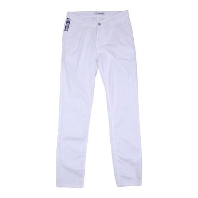 ビッケンバーグ BIKKEMBERGS パンツ ホワイト 11 コットン 100% パンツ