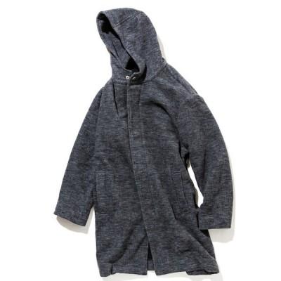 アウター rehacer : Slab Wool Hooded Coat