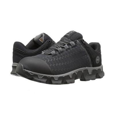 Timberland PRO ティンバーランド レディース 女性用 シューズ 靴 スニーカー 運動靴 Powertrain Sport Soft Toe SD+ - Black Synthetic