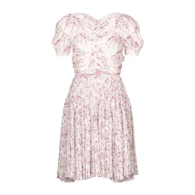 ジャンバティスタ ヴァリ GIAMBATTISTA VALLI ミニワンピース&ドレス ライトピンク 40 シルク 100% ミニワンピース&ドレス