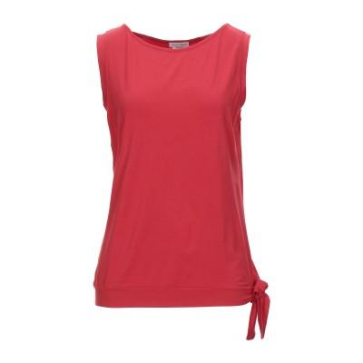 グラン サッソ GRAN SASSO T シャツ レッド 52 コットン 70% / レーヨン 20% / ポリウレタン® 10% T シャツ