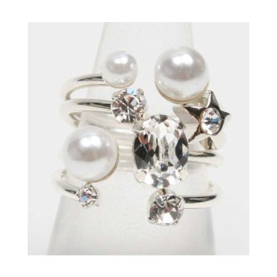 Jewel Casket 4連リング(silver)