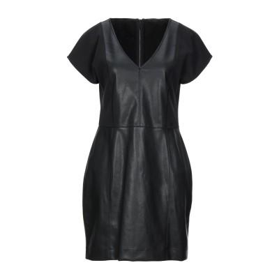 ARMANI EXCHANGE ミニワンピース&ドレス ブラック XS ポリエステル 53% / レーヨン 44% / ポリウレタン 3% ミニワン