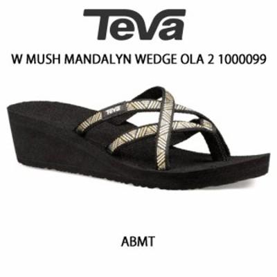 Teva(テバ)レディース スポーツ ストラップ サンダル W MUSH MANDALYN WEDGE OLA 2 1000099