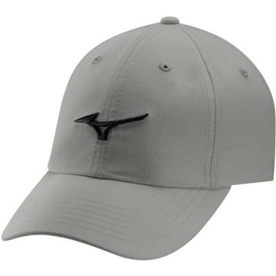 ミズノ Mizuno メンズ キャップ 帽子 Tour Lightweight Golf Hat Grey/Black